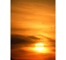 Sunsetsky Photographic Print