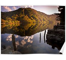 Upper Lake, Glendalough, Co. Wicklow, Ireland Poster
