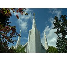 Portland Oregon LDS Temple Photographic Print