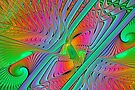 Colorful Splits-Cylinder by sstarlightss