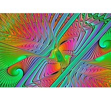 Colorful Splits-Cylinder Photographic Print