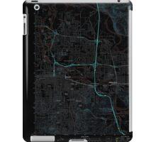 USGS Topo Map Oregon Eugene East 20110831 TM Inverted iPad Case/Skin