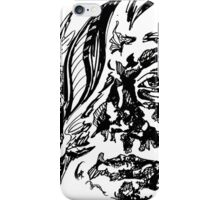 Outlined iPhone Case/Skin
