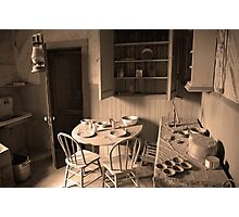 Bodie California ( Interior) Photographic Print