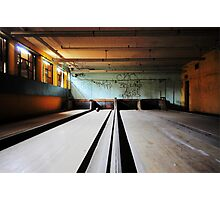Norwich State Hospital, Underground Bowling Alley Photographic Print