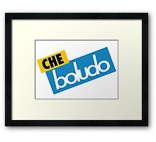 Che Boludo Framed Print