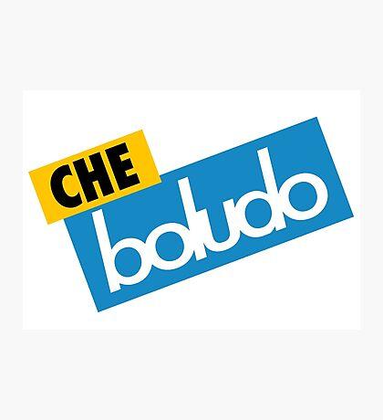 Che Boludo Photographic Print
