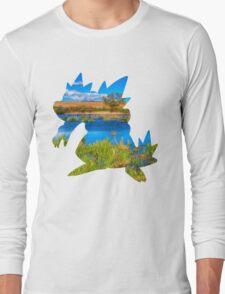 Feraligatr used surf Long Sleeve T-Shirt