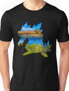 Feraligatr used surf Unisex T-Shirt