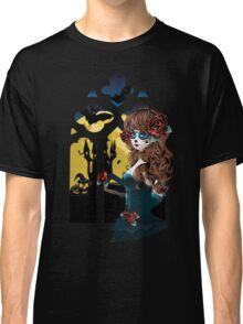 Day of the Dead and Gothic window Classic T-Shirt