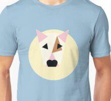 Bull Terrier Simplified Vector Spot Pattern Unisex T-Shirt