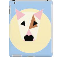 Bull Terrier Simplified Vector Spot Pattern iPad Case/Skin