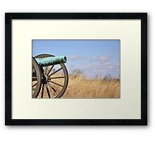 Cannon - Gettysburg, PA Framed Print