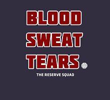 Blood. Sweat. Tears. - Red Unisex T-Shirt