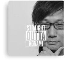 Straight Outta Konami Canvas Print