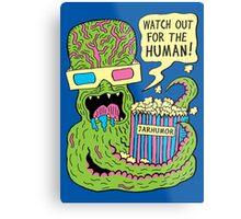 Alien Monster Movie Metal Print