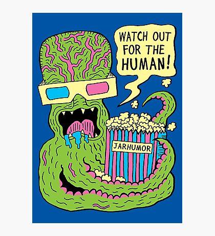 Alien Monster Movie Photographic Print