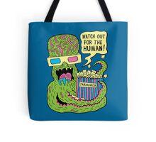 Alien Monster Movie Tote Bag