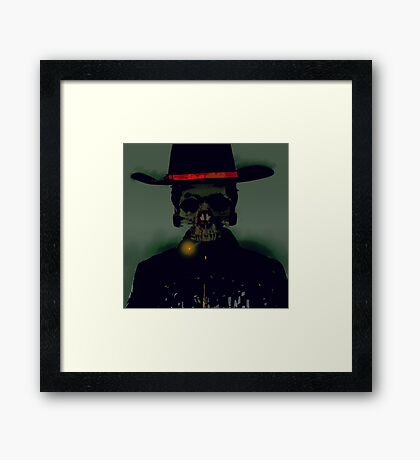 see you in space cowboy Framed Print