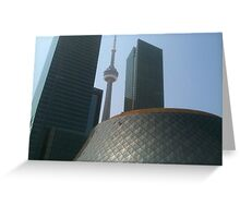 Toronto architecture Greeting Card