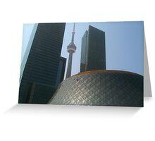 Toronto architecture Greeting Card