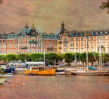 A Grand City - Stockholm, Sweden by Mark Richards