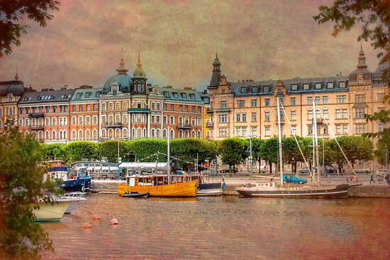 A Grand City - Stockholm, Sweden by Mark Richards