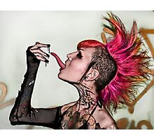 Tongue and Goop Photographic Print