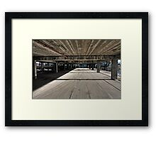 The Speed of Concrete Framed Print