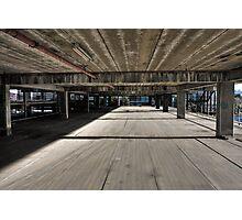 The Speed of Concrete Photographic Print