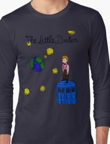 The Little Doctor (open background) Long Sleeve T-Shirt