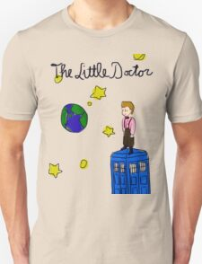 The Little Doctor (open background) Unisex T-Shirt