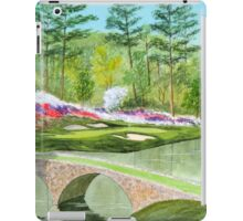 Augusta National Golf Course Hole 12 iPad Case/Skin