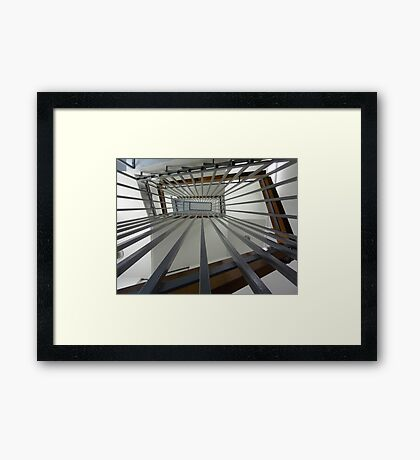 Internal Stairs - As Is Framed Print