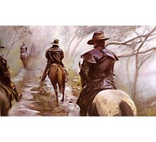 High Country Trail Ride Photographic Print