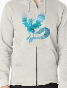Articuno used sheer cold Zipped Hoodie