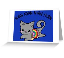 Nyan Nyan Greeting Card