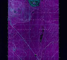 USGS Topo Map Oregon Odell Butte 280960 1967 24000 Inverted by wetdryvac