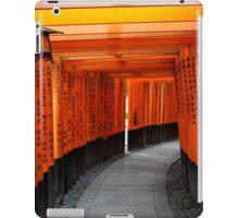 Tori Gates of Fushimi Inari Shrine iPad Case/Skin