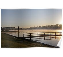 Misty Reflection - Lake Beaufort - Victoria Poster
