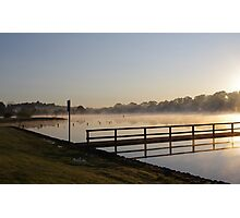 Misty Reflection - Lake Beaufort - Victoria Photographic Print