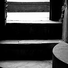 Shadowed Stairs by Rae Tucker