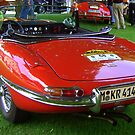 E-type Jaguar by ©The Creative Minds