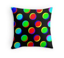 sd Colorful ILLusion Abstract 190J Throw Pillow