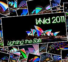 Lighting the Sails / Vivid 2011 by David Geoffrey Gosling (Dave Gosling)