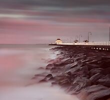 St Kilda Pier - Winter Sunrise by Paul Oliver