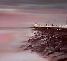 St Kilda Pier - Winter Sunrise by Paul Oliver