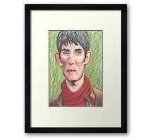 Merlin Magic and Mortal Framed Print