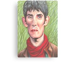 Merlin Magic and Mortal Canvas Print