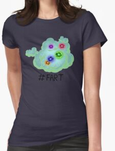 #fart Womens Fitted T-Shirt